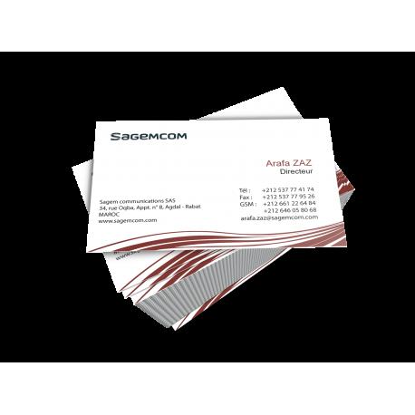 Carte Visite SagemCom