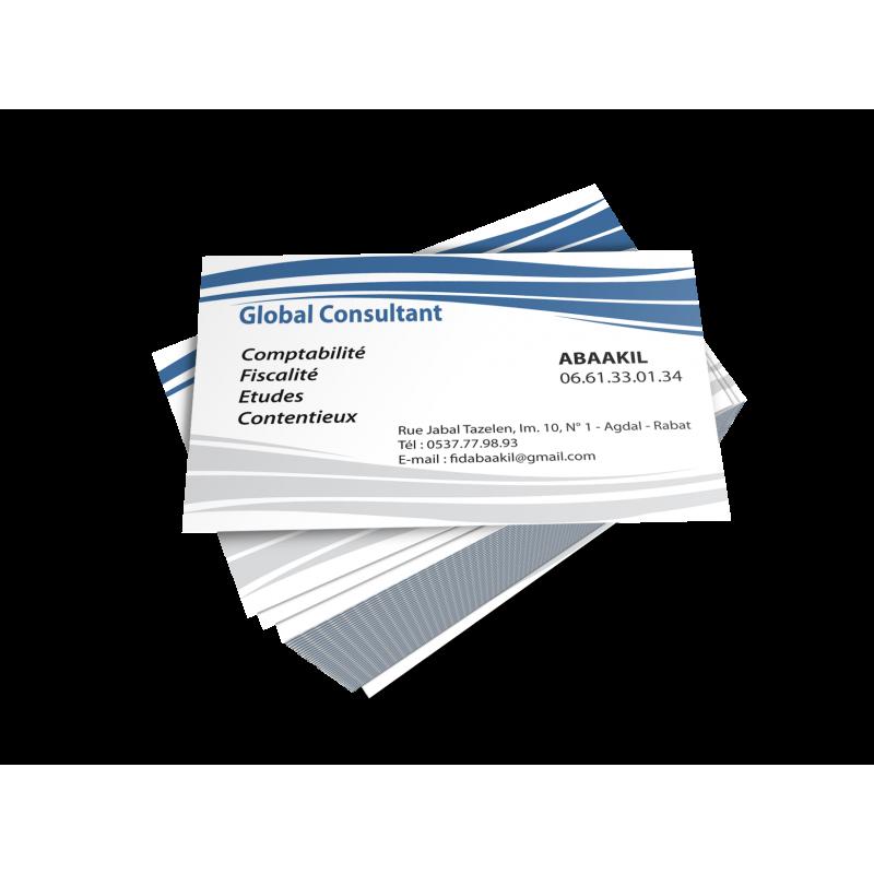 Carte Visite Global Consultant