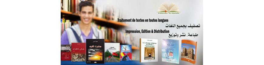 Publication des livres